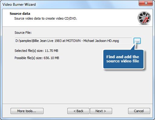 Add Source Video File
