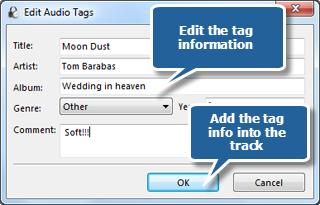 Edit ID3 Information